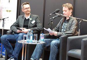 Lesung auf der Leipziger Buchmesse mit Timothy Sonderhüsken