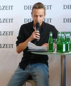 Lesung bei der ZEIT auf der Frankfurter Buchmesse