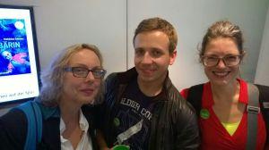 dotbooks-Autoren unter sich: Silke Schütz, Kirsten Rick, Thomas Lisowsky