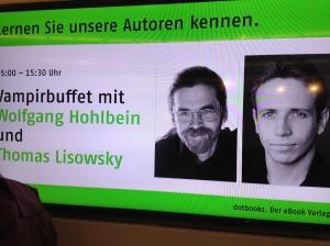 Veranstaltung: Vampirbuffet mit Wolfgang Hohlbein und Thomas Lisowsky
